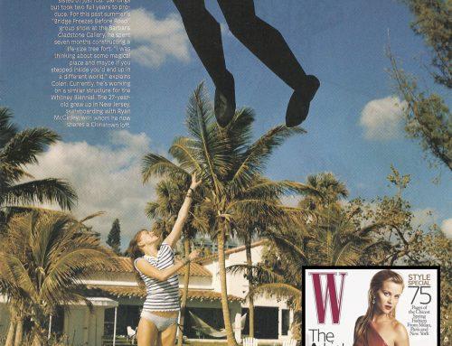 Press: W Magazine